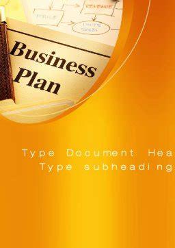 business plan flowchart word template