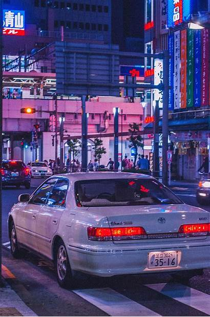 Jdm Japan Cars Street Aesthetic Japanese Retro