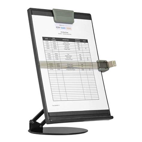 porte document bureau dac adjustable document holder grand