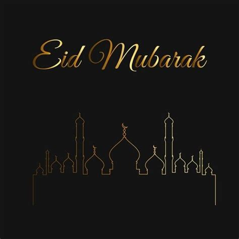 islamic ramadan kareem  eid mubarak card illustration