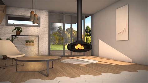 cheminée design Domofocus - YouTube
