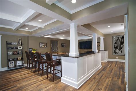 Bar In Family Room by Family Rooms Custom Home Theaters Dominion