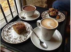 Delicious coffee, hot chocolate & breakfast treats