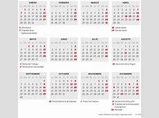 Calendario laboral en Madrid en 2019 Madrid EL PAÍS