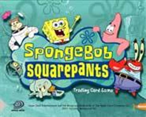play spongebob deck spongebob squarepants sea duel tcg trading card