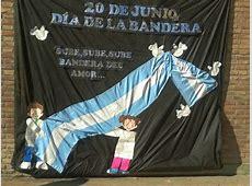 Manualidades del Día de la Bandera Argentina adornos