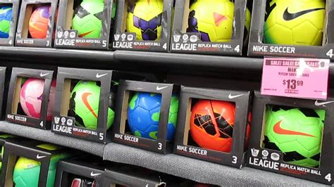 Getting a soccer ball at the Big 5 store - YouTube