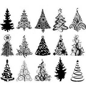 Vector-Christmas-Trees