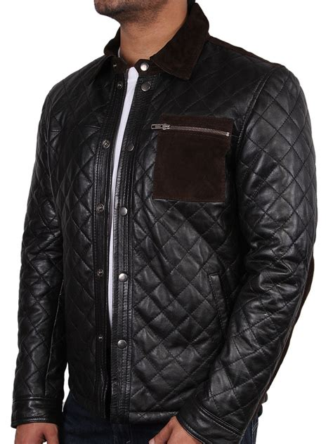 mens quilted jacket mens quilted leather jacket quilted motorcycle jacket