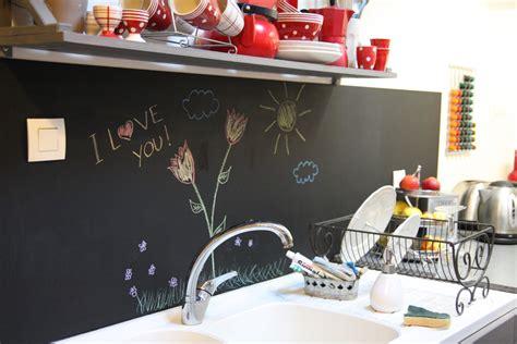 tableau noir ardoise cuisine un tableau noir dans ma cuisine
