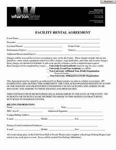 event contract template invitation templates facility With facilities rental agreement template