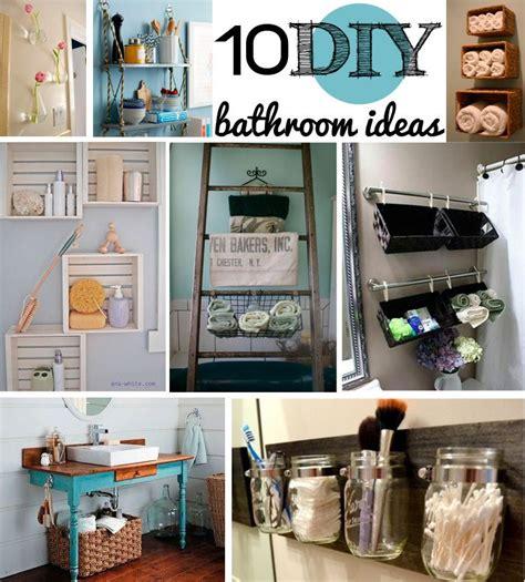 home decor bathroom ideas 10 diy bathroom decor ideas