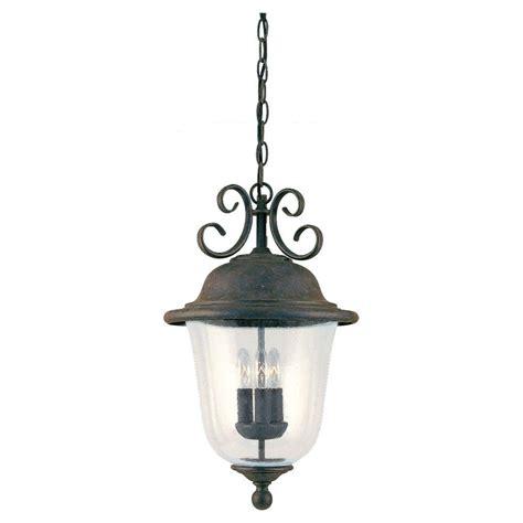 sea gull lighting herrington 2 light outdoor black hanging