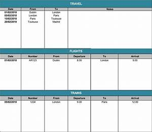 Microsoft Office Organizational Chart Template 5 Travel Itinerary Templates For Excel And Word