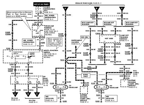 Fog Light Wiring Diagram For 1990 Ford Mustang by I A 1998 Moutaineer 5l V8 Awd The Headlights