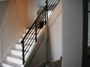 Home Design Exles Modern Black Staircase Banister Home Design Exles