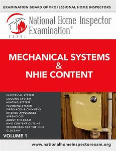 National Home Inspector Exam Manuals
