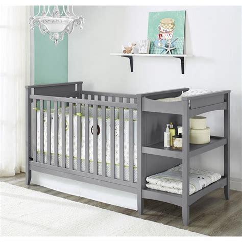 crib changing table set 2 in 1 convertible crib and changing table combo set in