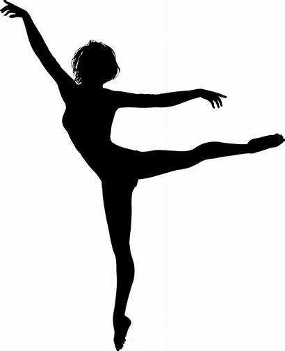 Silhouette Dance Dancing Transparent Ballerina Clipart Ballet