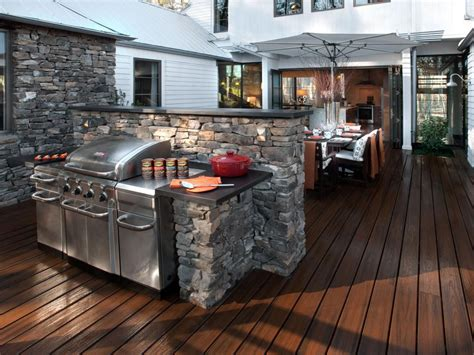 outdoor kitchens  grilling stations hgtv