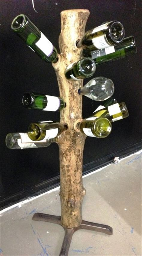 tree wine rack tree trunk wine rack by southgalawyer lumberjocks