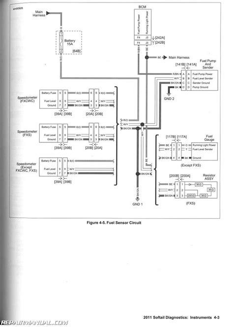Harley Fuel Wiring Diagram by Harley Davidson Motorcycle Wiring Diagrams Fuel