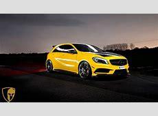 2014 Mulgari Mercedes Benz Project 45 Evening Wallpaper