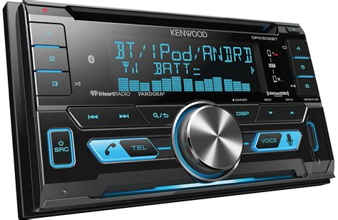 kenwood doppel din kenwood dpx502bt din receiver with bluetooth