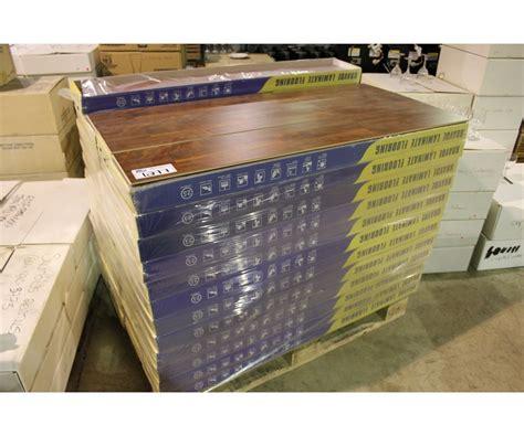 Pallet Of Bravoe Brown Teak Laminate Flooring