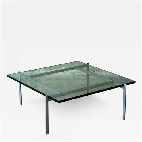 Poul Kjærholm  Poul Kjaerholm Pk61 Coffee Table