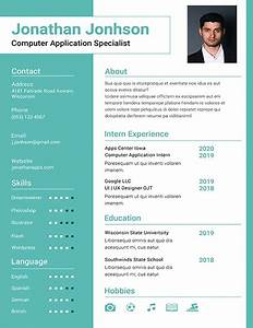 Simple Resume Formats Bca Fresher Resume Template