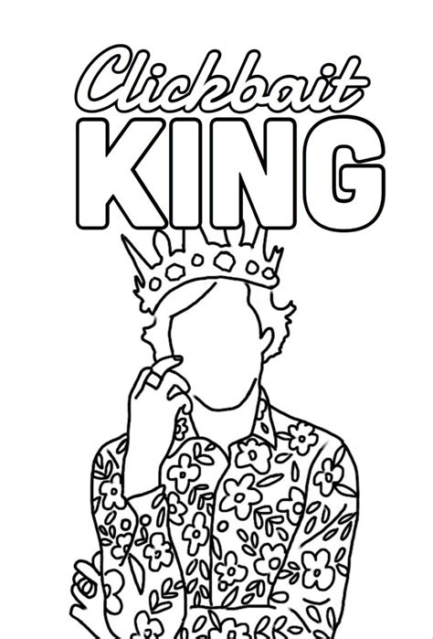 harry styles coloring pages coloring home