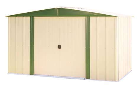 Sears Sheds 10 X 12 by Arrow Hm108 Steel Shed 10 Ft X 8 Ft Lawn Garden
