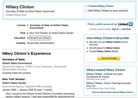 Hillary Clinton Resume  Resume Ideas. Sample Resume For No Work Experience. Sample Resume No Experience. Reporting Analyst Resume Sample. Sample Resume For Production Worker. Resume Job Description For Server. Good Action Words For Resumes. Hobbies For Resume Examples. Good Career Goal For Resume