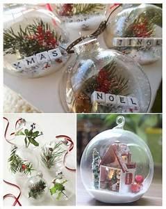 Mini Boule De Noel : 9 best boule de noel diy images on pinterest be creative christmas balls and christmas parties ~ Dallasstarsshop.com Idées de Décoration