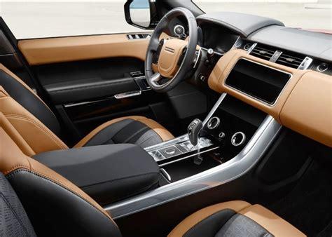range rover sport interior  automotive car news