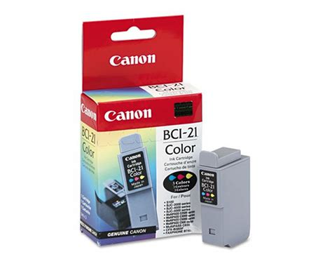 Canon Bjc-4100 Inkjet Printer Black Ink Cartridge