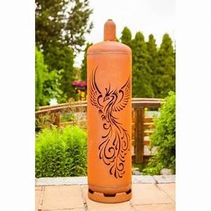 Gasflasche Als Feuerstelle : sehr stylische feuertonne gasflasche mit ph nix design ~ Whattoseeinmadrid.com Haus und Dekorationen