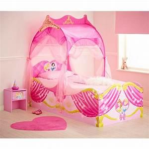 Lit Princesse Fille : 28 best images about chambre enfant princesse on pinterest disney belle and poster ~ Teatrodelosmanantiales.com Idées de Décoration