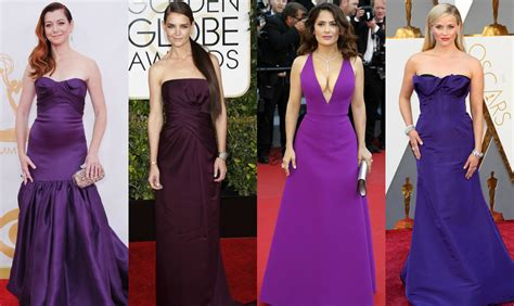 Color Of The Year 2018 18 Celebrities Wearing Purple