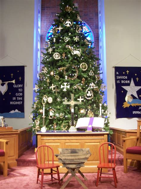 church christmas decorations ideas  love