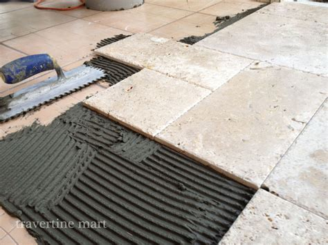 how to plan a travertine tile layout