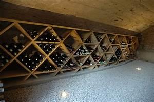 Casiers Pour Bouteilles De Vin Par Olivimo Sur L39Air Du Bois