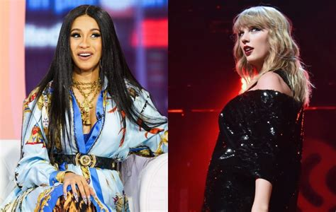cardi b breaks taylor swift record cardi b breaks taylor swift s apple music record nme