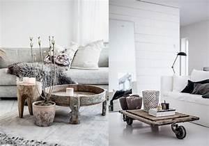 Deco Pour Salon : 20 inspirations pour un salon aux couleurs naturelles joli place ~ Teatrodelosmanantiales.com Idées de Décoration