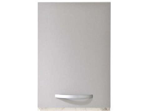 meuble haut  cm  porte spoon color coloris gris vente de meuble haut conforama
