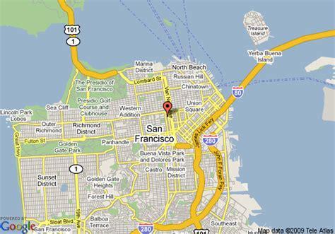 map  oasis inn san francisco