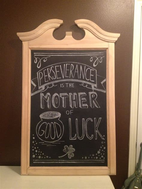 irish proverb st patricks day chalkboard idea