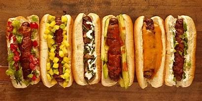 Dogs Hotdog Dog Dddtraveler Bacon Wrapped Bonanza