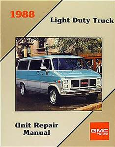 1988 Chevy  Gmc P Forward Control Wiring Diagram Motorhome And Stepvan